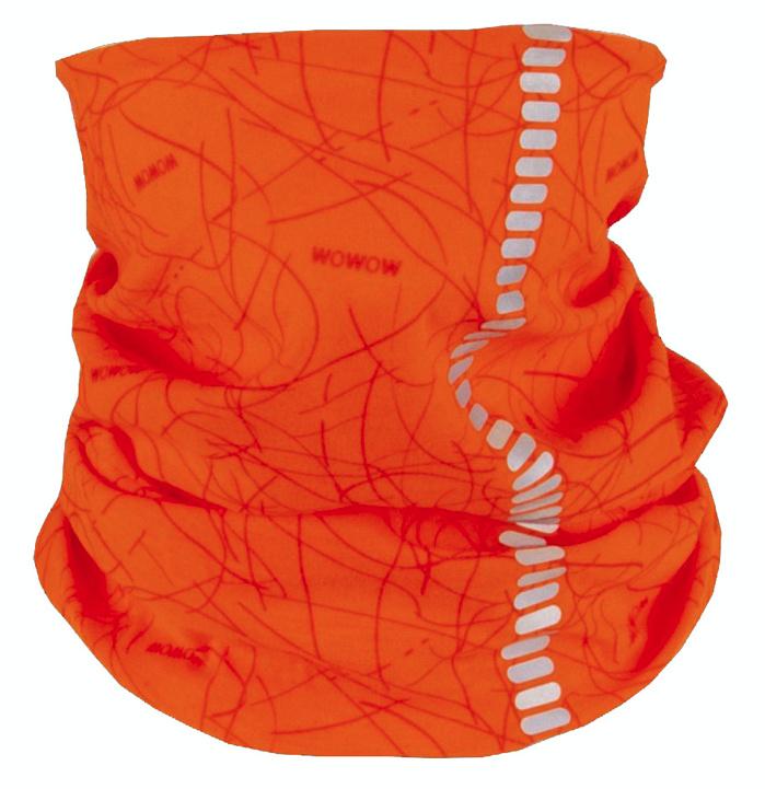 WOWOW multifunctie doek Nutty oranje