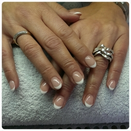 Gel Nagels French Manicure