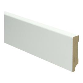 MDF Moderne Plint 70x15 Wit Voorgelakt RAL9010