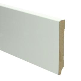 MDF Moderne Plint 120x15 Wit Voorgelakt RAL9010