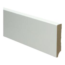 MDF Moderne Plint 90x18 Wit Voorgelakt RAL9010