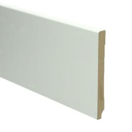 MDF Moderne Plint 120x12 Wit Voorgelakt RAL9010
