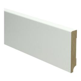 MDF Moderne Plint 90x15 Wit Voorgelakt RAL9010