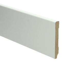 MDF Moderne Plint 90x12 Wit Voorgelakt RAL9010