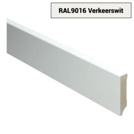 MDF Moderne Plint 70x15 Verkeerswit Voorgelakt RAL9016