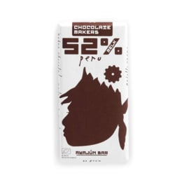 Chocolate Makers - Awajun Bar Melk 52%