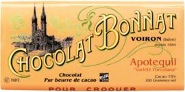 Chocolat Bonnat - Apotequil 75%