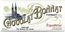 Chocolat Bonnat - Équateur 75%