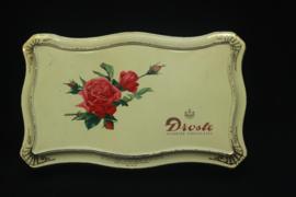 Droste - Geschulpte doos met rozen