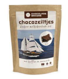Chocolate Makers - Chocozeiltjes with Coffee and Cacao Nibs 52%