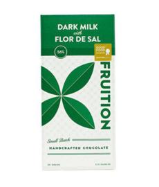 Fruition - DARK MILK met FLOR DE SAL 56% Peru