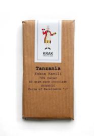 Krak Chocolade - Tanzania (Kokoa Kamili) 70%