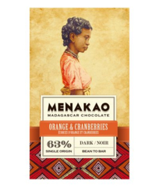 Menakao - Orange & Cranberries 63%