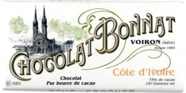 Chocolat Bonnat - Côte d'Ivoire 75%