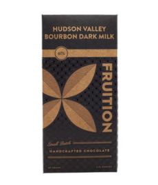 Fruition - HUDSON VALLEY BOURBON DARK MILK 61%  Dominican Rep.