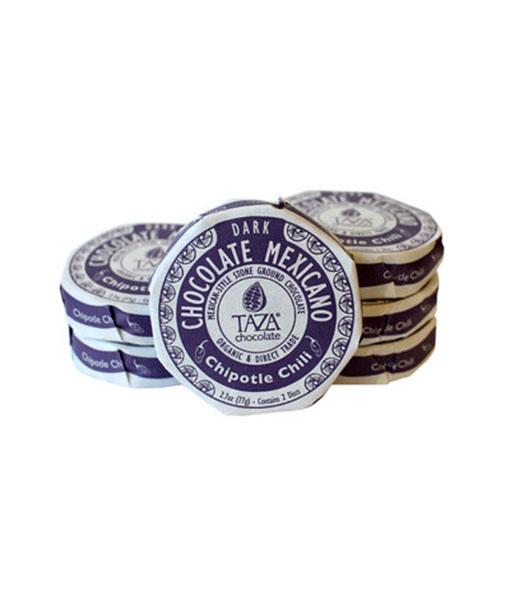 Taza Mexicano Discs - Chipotle Chili 50%