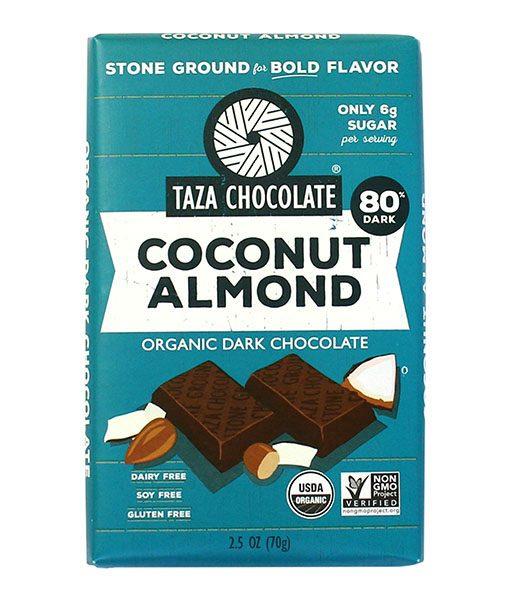 Taza Bars - Coconut Almond