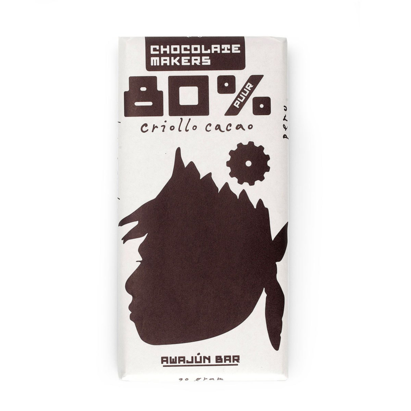 Chocolate Makers - Awajun Bar Dark 80%