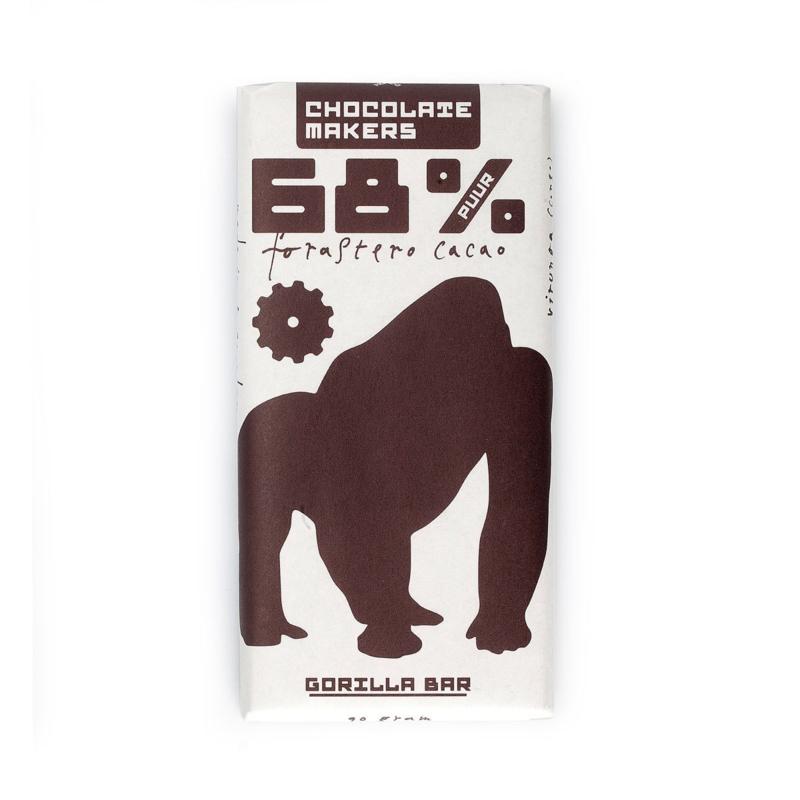 Chocolate Makers - Gorilla Bar Puur 68%
