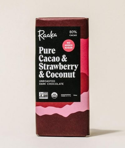 Raaka - Pure Cacao & Strawberry & Coconut 80%