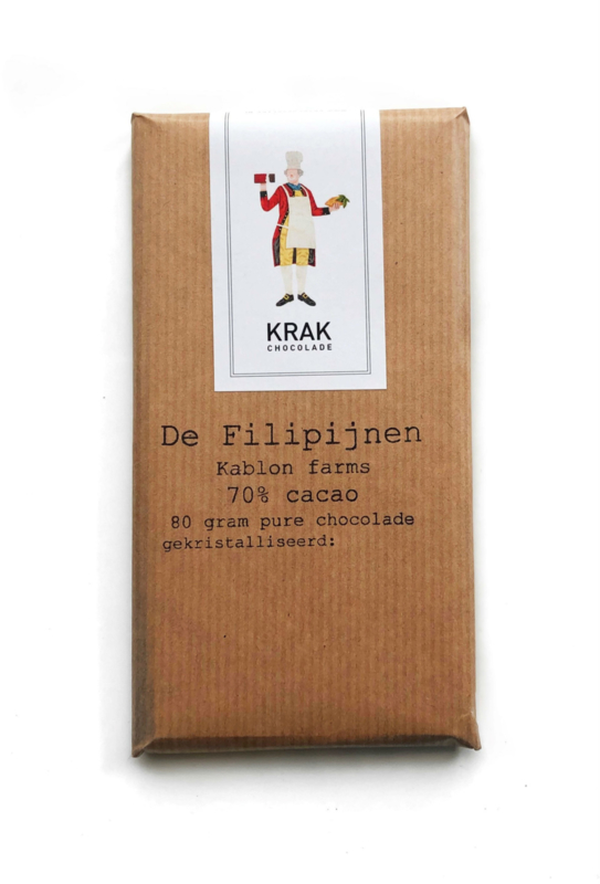 Krak Chocolade - Philippines (Kablon Farms) 70%