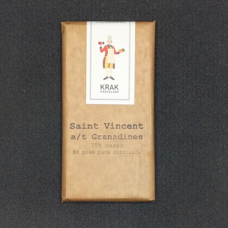 Krak Chocolade - St. Vincent a/t Grenadines 70%