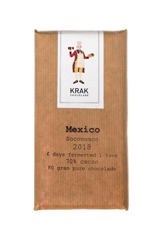 Krak Chocolade - Mexico Soconusco 70%
