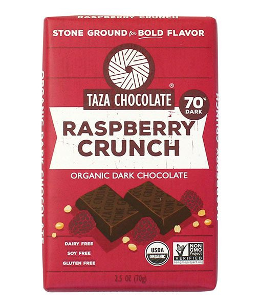 Taza Bars - Raspberry Crunch