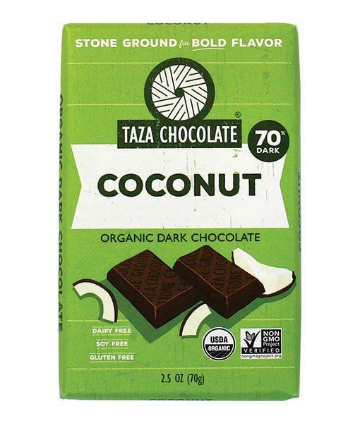 Taza Bars - Coconut