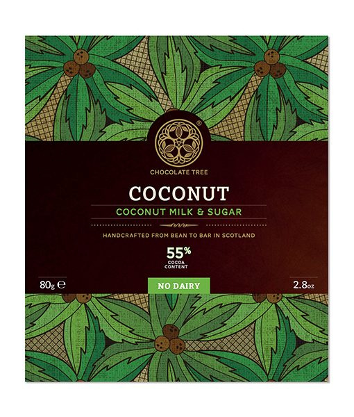 Chocolate Tree - Coconut 55%