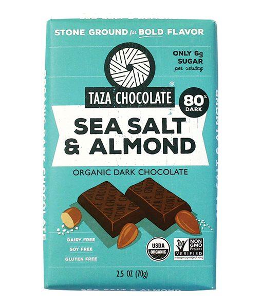 Taza Bars - Sea Salt & Almonds