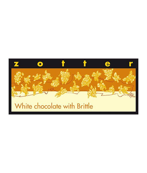Zotter - White Chocolate with Brittle