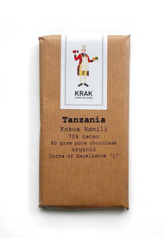 Krak Chocolade - Tanzania (Kokoa Kamili)