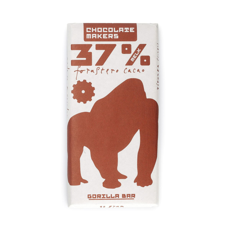 Chocolate Makers - Gorilla Bar Milk 37%