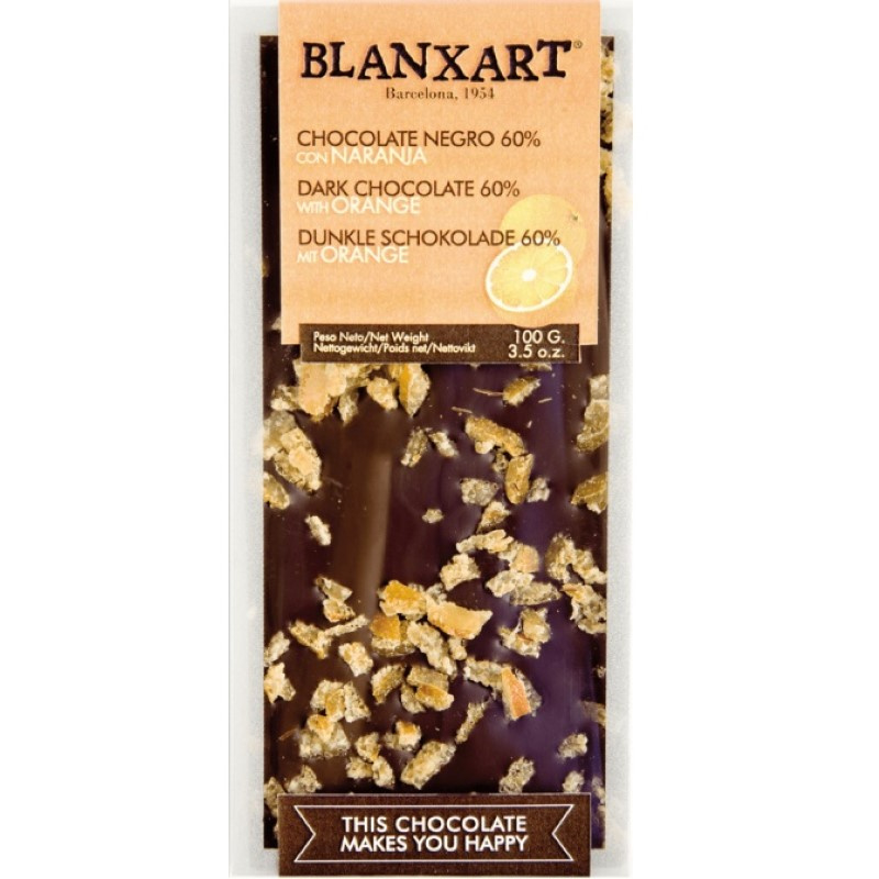 Blanxart - Dark Chocolate with Orange