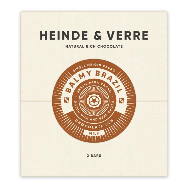 Heinde & Verre - Balmy Brazil Melk 62%