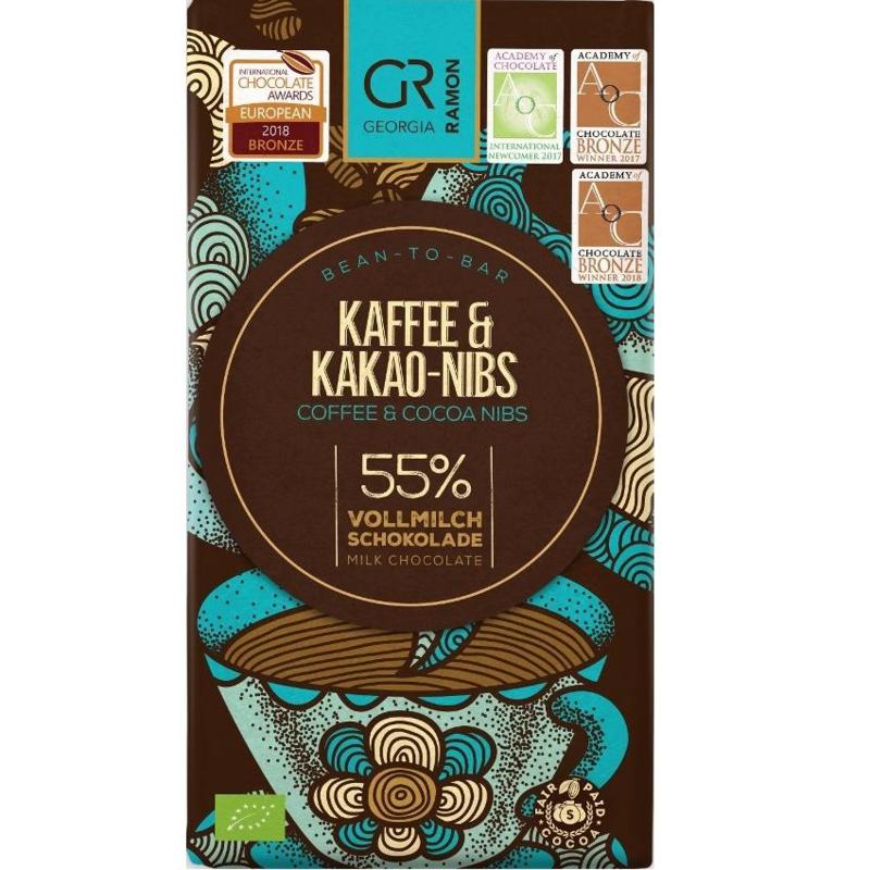 Georgia Ramon - Kaffee & Kakao Nibs 55%