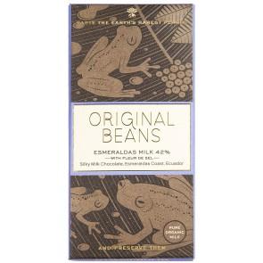 Original Beans - Esmeraldas with Sea salt 42% Milk