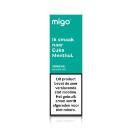 Migo Euka Menthol (nic salt)