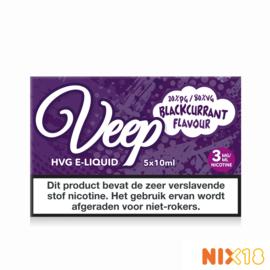 Veep Blackcurrant 5x10ml HVG