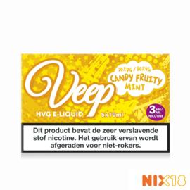 Veep Candy Fruity Mint 5x10ml HVG