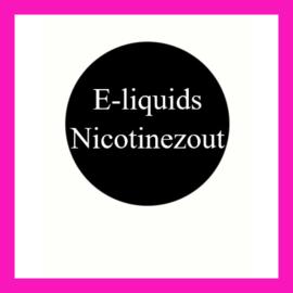 E-liquids Nicotinezout