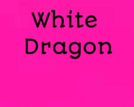 Aroma's White dragon