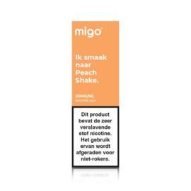 Migo Peach Shake (nic salt)