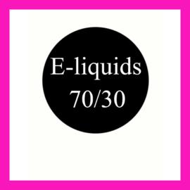 E-liquids 70/30 PG/VG