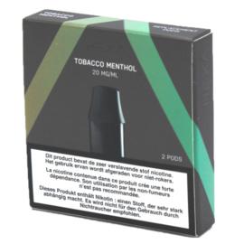 Hexa Pods Tabak&Menthol 20mg