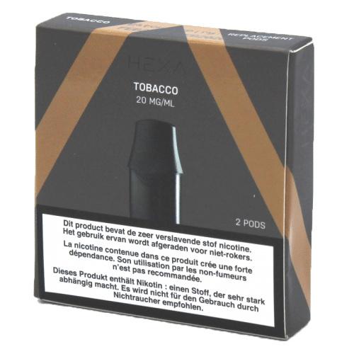 Hexa Pods Tabak 20mg