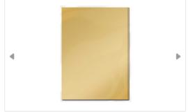 Spiegelkarton mat Honey gold