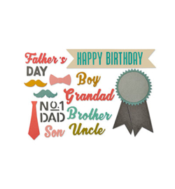 Sizzix: Male occasions