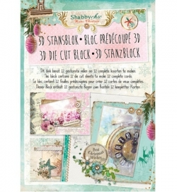 Studio Light Stansblok: Shabby Chic Christmas